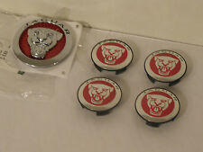 NEW Genuine JAGUAR Red Wheel Centre Caps & Grill Badge XF XJ XK X-TYPE F-TYPE