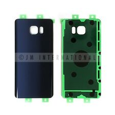 Samsung Galaxy Note 5 N920 N920T Blue Glass Back Cover Housing Battery Door USA