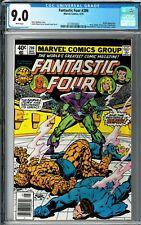 Fantastic Four #206 CGC 9.0 (May 1979, Marvel) Marv Wolfman story, Skrulls app.