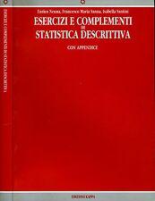 Esercizi E Complementi Di Statistica Descrittiva. . 1993. .