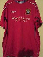 Morecambe 2005-2006 Home Football Shirt Talla Xxl / 39812