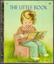 Vintage Little Golden Book ~ THE LITTLE BOOK ~ #583 Eloise Wilkin 1st Edition
