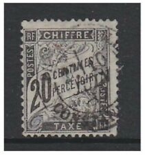 France - 1882, 20c Black Postage Due - G/U - SG D286