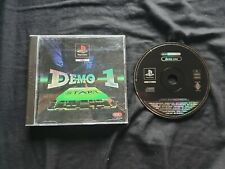 DEMO ONE Sony Playstation 1 Game PS1 Demo Disc