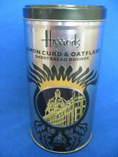 Harrods Of Knightsbridge - Lemon Curd & Oatflakes Shortbread Tin (Empty)