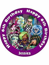 MONSTER HIGH 19CM KOPYKAKE EDIBLE ICING IMAGE CAKE TOPPER #2