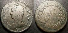 Pièces de monnaie françaises de 10 centimes 1 francs