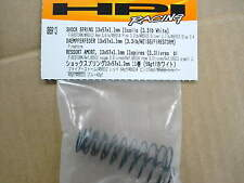 HPI PARTS #86913 Shock Spring (13x57x1.1mm 11 coils 3.3lb white) for Firestorm