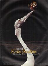 PUBLICITE ADVERTISING  2004   NICOLAS  FEUILLATTE    champagne