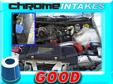 RED BLUE 98-02 CHEVY CAMARO/PONTIAC FIREBIRD 3.8L V6 FULL COLD AIR INTAKE KIT