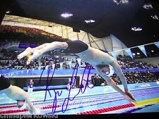 Ryan Lochte autographed  11x14 PGold Medal Winner   Florida GATORS  UF olympics