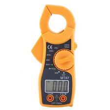 Ammeter Digital Clamp Meter Multimeter Ac Dc Voltmeter Auto Range Volt Ohm Amp