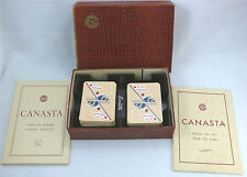 Coffret 2 jeux de cartes Cie Générale transatlantique CGT excellent état complet