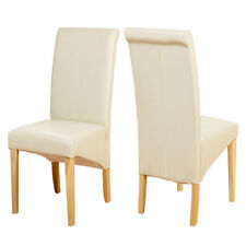 Leather Contemporary Chairs 2 Pieces