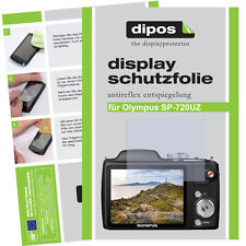 2x Olympus SP-720 UZ screen protector protection guard anti glare