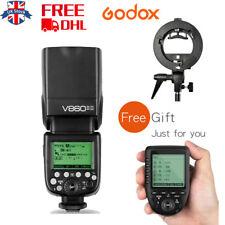 UK Godox V860II-S 2.4G  i-TTL Li-on Flash+Free S type Bracket+Xpro-S for Sony