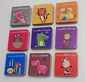 """9 kleine Bücher """" Das kann ich schon """" versch. Themen"""