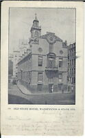 AZ-020 - Old State House, Somerville, MA, 1901-1907 Undivided Back Postcard