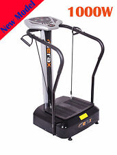 Merax Fitness Whole Body Vibration Plate Trainer Machine with Arm Straps Massage