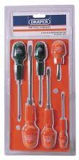 Draper 6 PC Cabinet Pattern Screwdriver Set 14078