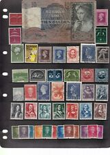 NETHERLAND 4 SCANS MIXED LOT 2 - CURRENCY