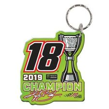 Kyle Busch Wincraft #18 2019 Monster Energy Champion Acrylic Key Ring FREE SHIP!