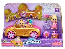 Shopkins Happy Places Royal Convertible Car with Exclusive Tiara Sparkles