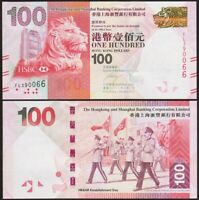 100 DOLLARS 2012 HONG KONG [UNC / NEUF] P214b Chine China