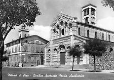 4094) MARINA DI PISA BASILICA SANTUARIO MARIA AUSILIATRICE. VIAGGIATA NEL 1956.