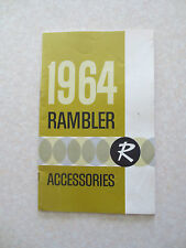 1964 American Motors accessories catalog for Rambler Classic & Ambassador cars
