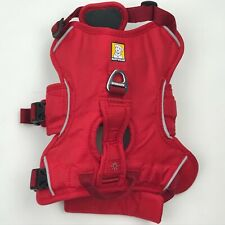 Ruffwear Web Master Red Multi-Use Support with Handle Dog Harness sz XS NEW
