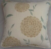 A 16 Inch cushion cover in Laura Ashley Erin Natural Fabric