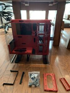 Thermaltake CA-1G4-00M3WN-01 Core P3 SE Red Open Frame PC (No Riser Cable)