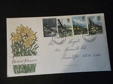 British Flowers First Day Cover, From  1979,  Great Britain Stamps