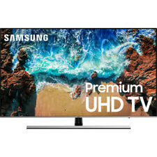 "Samsung UN55NU8000 55"" Silver UHD 4K HDR LED Smart HDTV - UN55NU8000FXZA"
