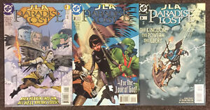 JLA Paradise Lost 1 2 3 DC Mark Millar & Olivetti Complete Set Justice League NM