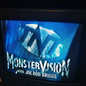 VHS Sold As Blank MONSTERVISION Joe Bob Briggs ~ When Dinosaurs Ruled the Earth
