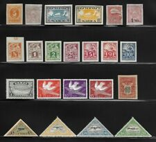 Lot of Mint (MH) Stamps from Estonia