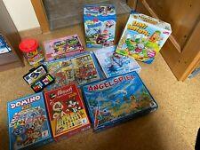 Spiele und Puzzlesammlung Kinder Pirat, Lotti Karotti, Domino, Mensch ärger dich