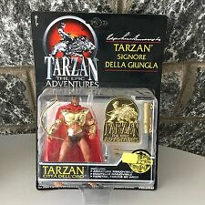 1995# VINTAGE  TARZAN EPIC ADVENTURE  GOLD CITY # MOSC CARDED