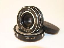 Industar- 69  28 mm f 2,8  Soviet lens  + adapter M39 - M4/3  olympus panasonic