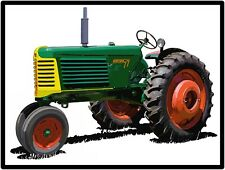Oliver Tractors New Metal Sign: Oliver Model 77 Featured