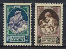FRANCE 1939 SERIE N° 440 441 PROPAGANDE EN FAVEUR DE LA NATALITÉ ** LUXE