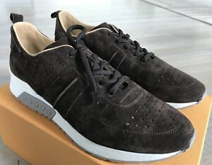 650$ Tod's Brown All Urban Sportivo Suede Sneakers size US 11 Made in Italy