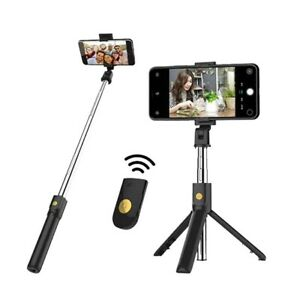 Extendable Wireless Remote Selfie Stick Tripod Holder Mount For sunday aul mei34