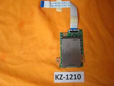 Notebook ASUS W5F Kartenleser Cardreader Platine Board Kabel #Kz-1210