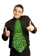 Cravate verts en polyester pour homme