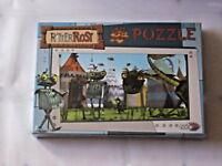 Noris Spiele 606031080 Ritter Rost Heiße Brüder Puzzle 48 tlg