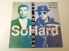 "PET SHOP BOYS - SO HARD (Remix By David Morales) - 12"" MAXI SINGLE"