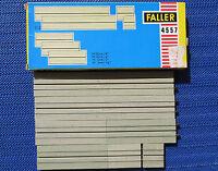 Faller Ams 4557 Seule Voie Tout Droit en Emballage D'Origine